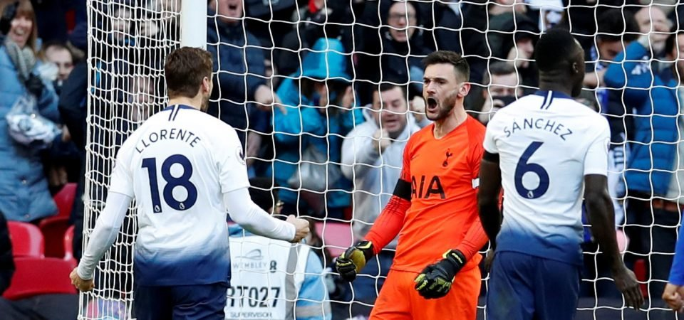 Jan Vertonghen's reaction to Hugo Lloris' penalty save has caused a stir amongst Tottenham supporters on Twitter