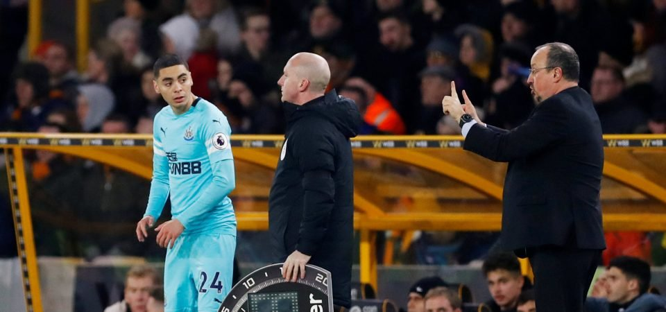 Major coup: Agent claims Man United wanted Newcastle's Almiron