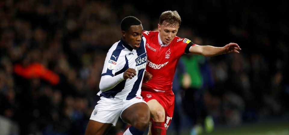 West Brom fans were delighted with 18-year-old Rekeem Harper against Nottingham Forest
