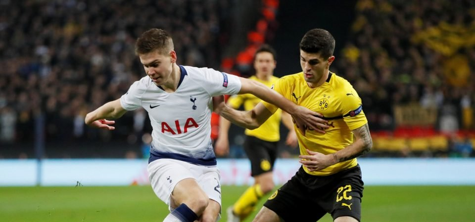 Opinion: Juan Foyth showed potential to follow in John Stones' footsteps vs Dortmund