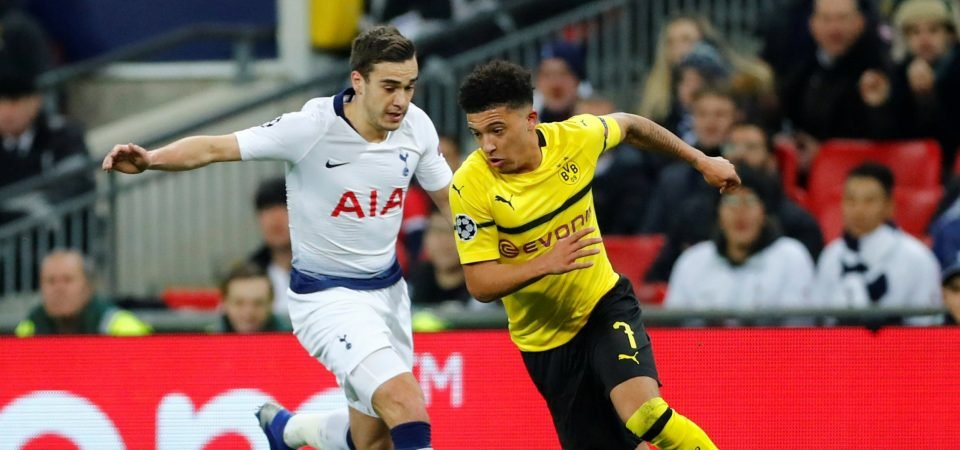 Liverpool fans want to sign Sancho after electric display vs Tottenham