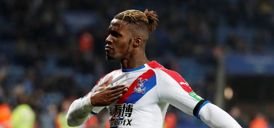 "Arsenal told to ""pay the money"" for Wilfried Zaha by former Crystal Palace manager"
