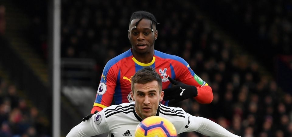 Crystal Palace fans react as Aaron Wan-Bissaka is ruled out of Leicester clash