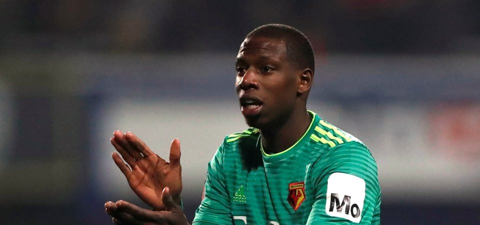 Watford fans applaud Doucoure's performance
