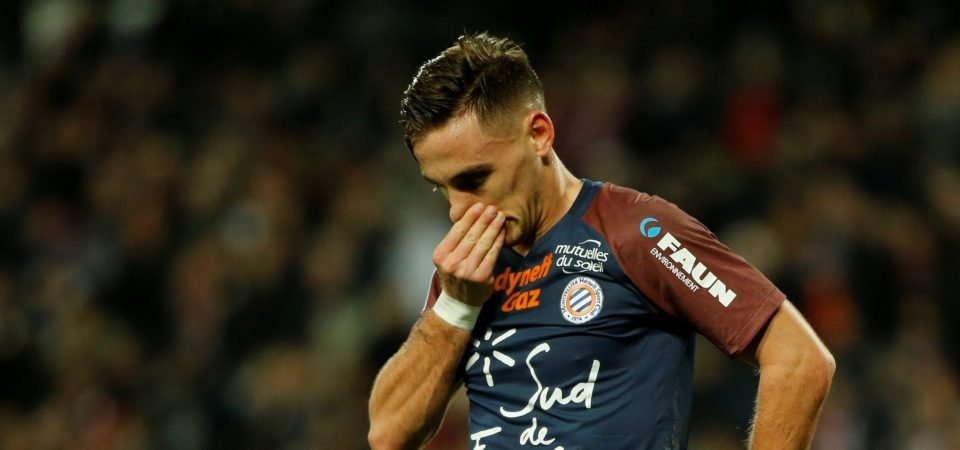 Crystal Palace eyeing up a move for Montpellier right-back Ruben Aguilar
