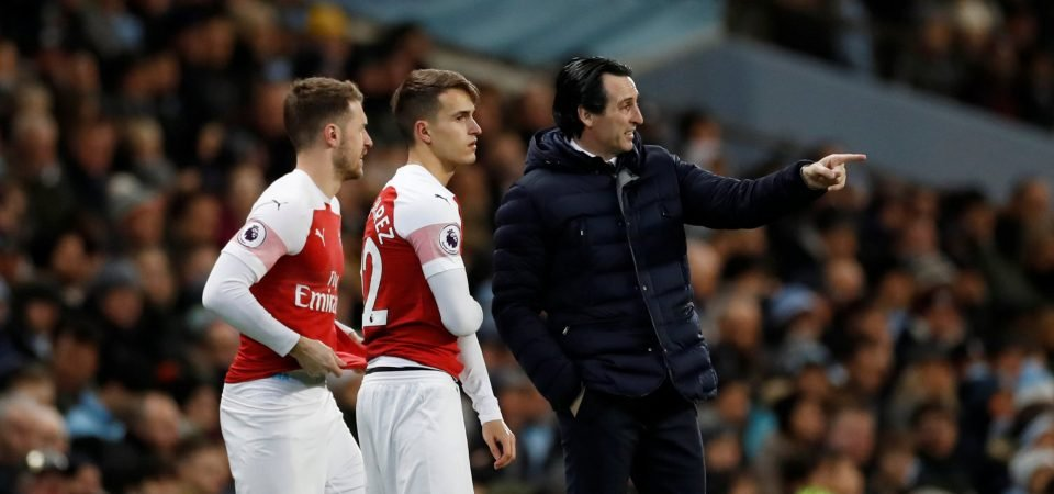 Unai Emery gave Arsenal no chance by playing 4-4-2 vs Man City