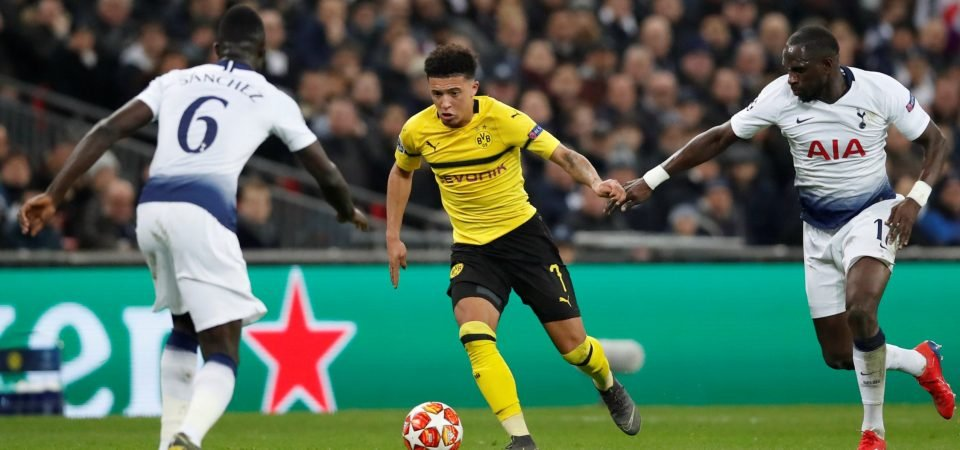 Arsenal fans want to sign Jadon Sancho after watching him against Tottenham