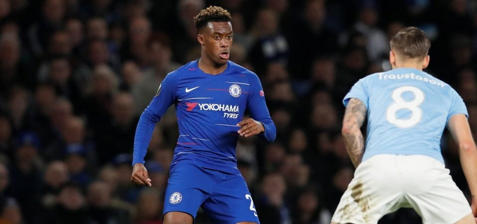 Liverpool fans have their say on Callum Hudson-Odoi after Chelsea goal