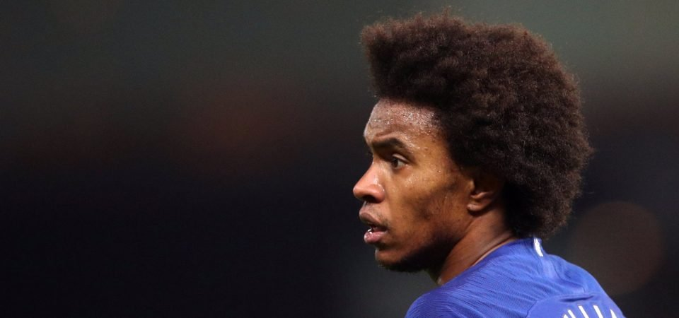 Willian sends a powerful message on Instagram