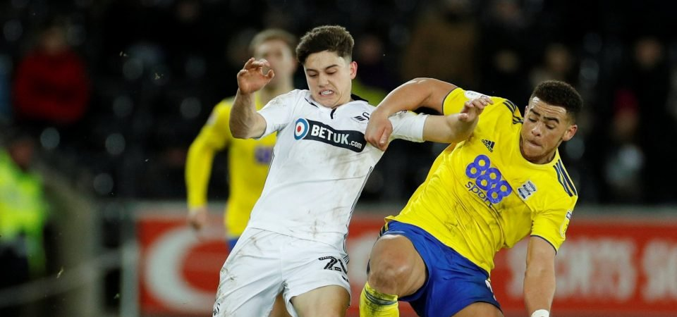 Leeds fans react as Swansea enter contract talks with Daniel James