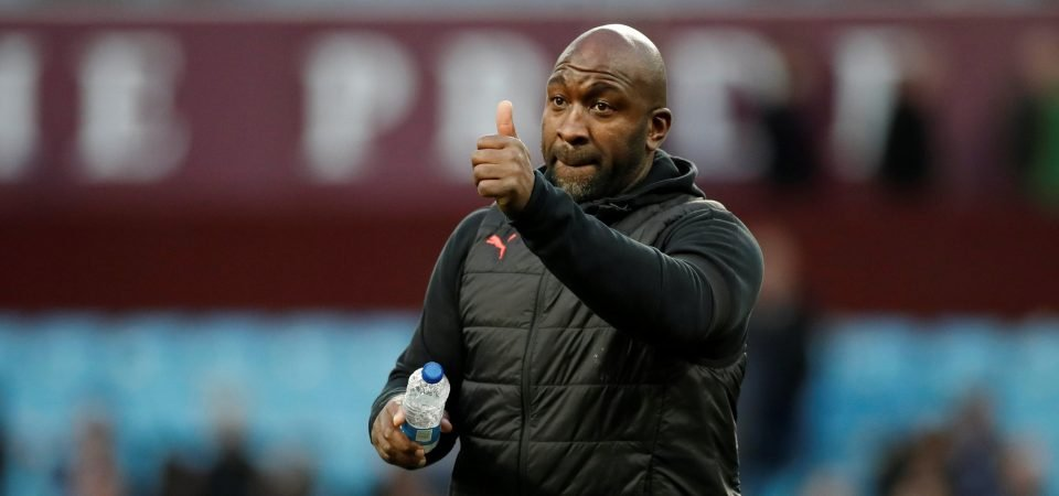 West Brom fans on Darren Moore's comments about playing out from the back