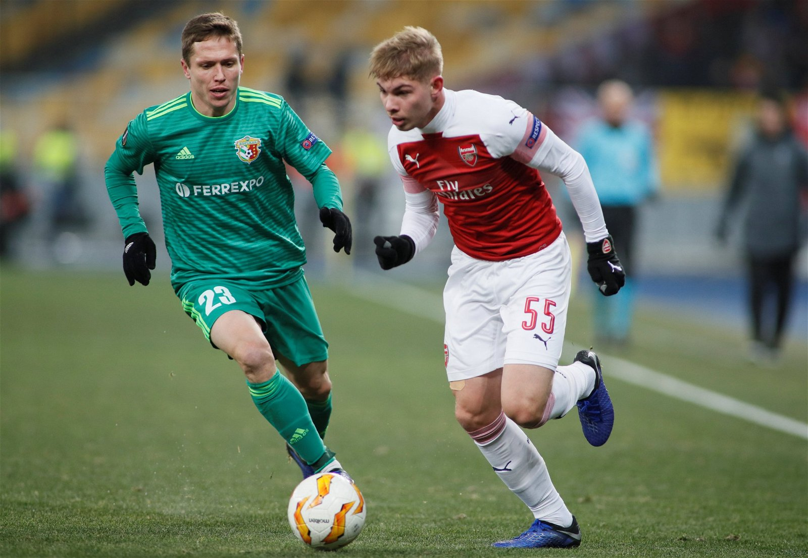 Emile Smith Rowe in action for Arsenal - Play them or pay the price: Arsenal & Man City exits a warning for the Premier League