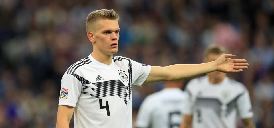 Tottenham fans react as the club is linked with a move for Matthias Ginter
