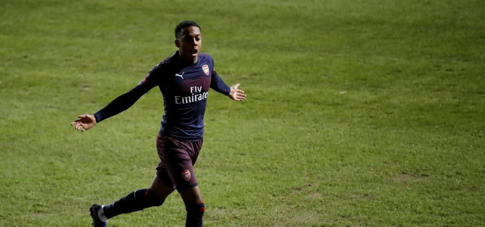Quick read: Joe Willock must stake claim for bigger first-team role against BATE Borisov