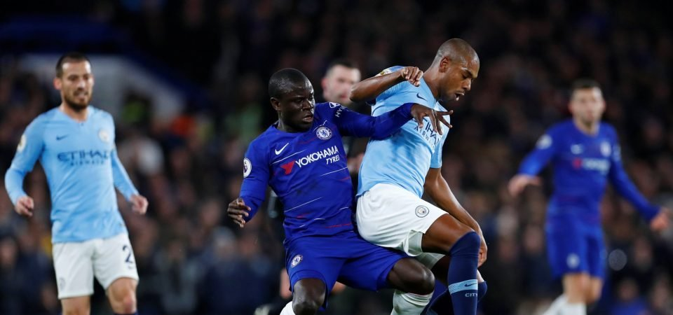 Chelsea will overrun City if Fernandinho continues at centre-back