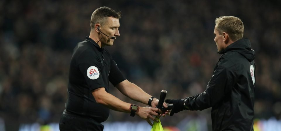 West Ham fans react after linesman potentially cost them two points vs Liverpool