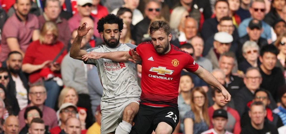 Manchester United fans thrilled with Luke Shaw display