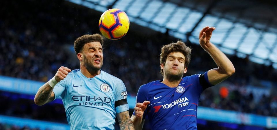 Chelsea fans slam Marcos Alonso after dismal display against Manchester City