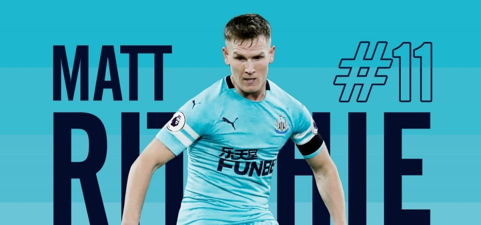 Matt Ritchie has opportunity to seize captaincy in coming weeks
