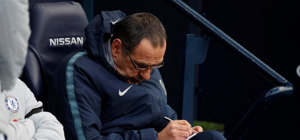 Maurizio Sarri's tactical inflexibility will always leave Chelsea short of the Premier League's best