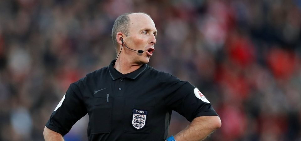 Leeds fans fearing the worst as Mike Dean officiates their game this weekend