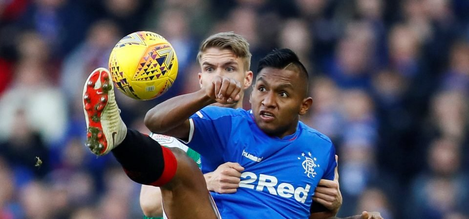 Rangers fans react after Alfredo Morelos hits four goals against Kilmarnock