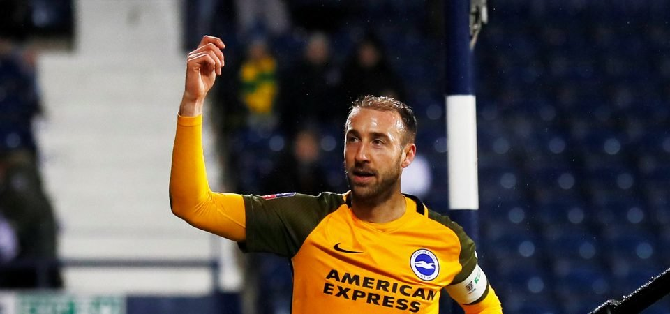 Crystal Palace fans argue over former striker Glenn Murray after FA Cup double for Brighton