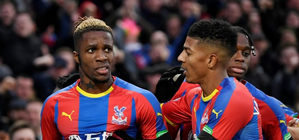 The Chalkboard: Patrick van Aanholt is key to Wilfried Zaha and Palace's attacking play