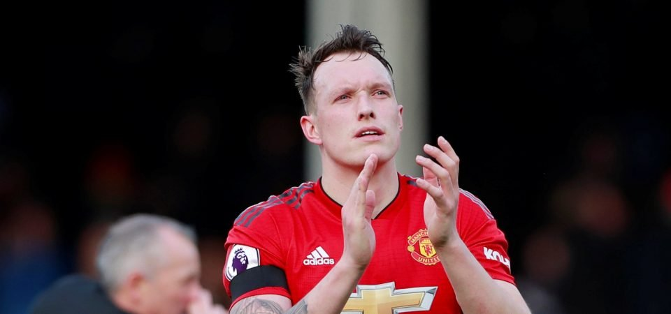 Manchester United fans on Phil Jones' performance against Fulham