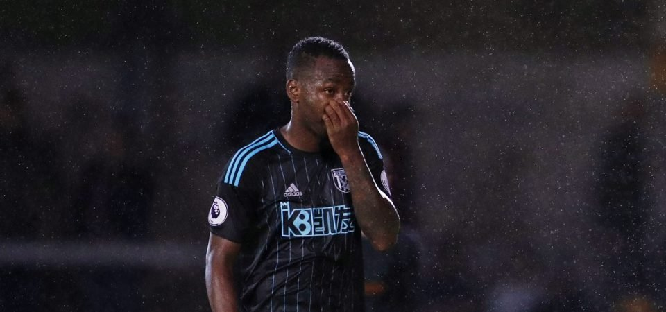 West Brom fans react as Stoke prepare to give Saido Berahino the boot