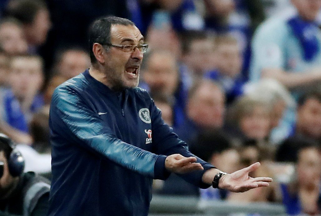 Sarri is furious as Kepa refuses to come off