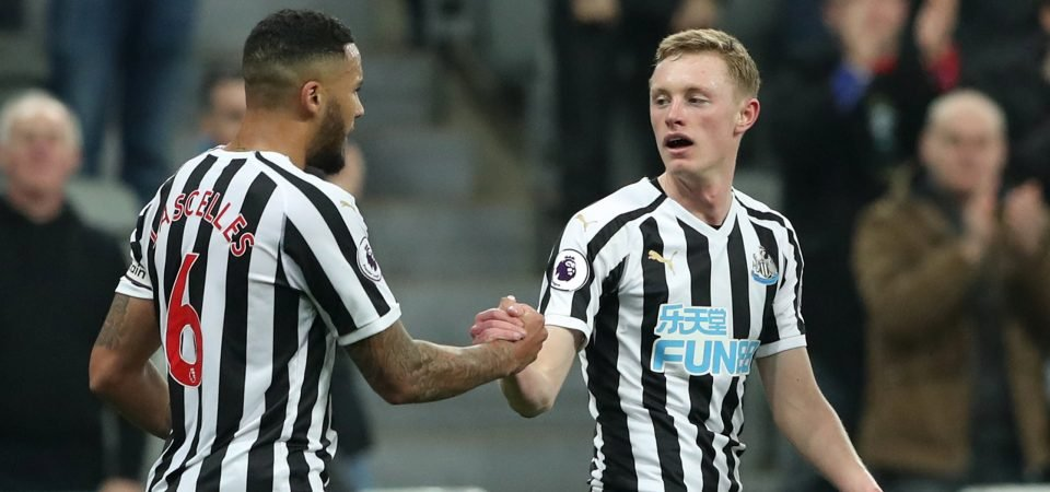 Transfer Focus: Sean Longstaff can finally be Man Utd's successor to Michael Carrick