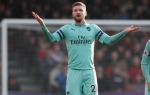 "Arsenal defender Shkodran Mustafi says he is ""haunted"" by Emmanuel Petit criticism"