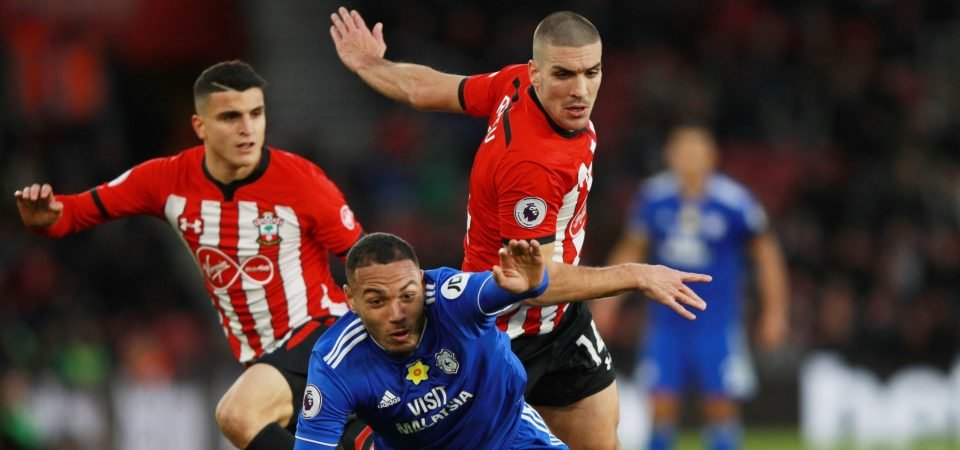 There's no place for Oriol Romeu when Southampton's relegation rivals visit St Mary's