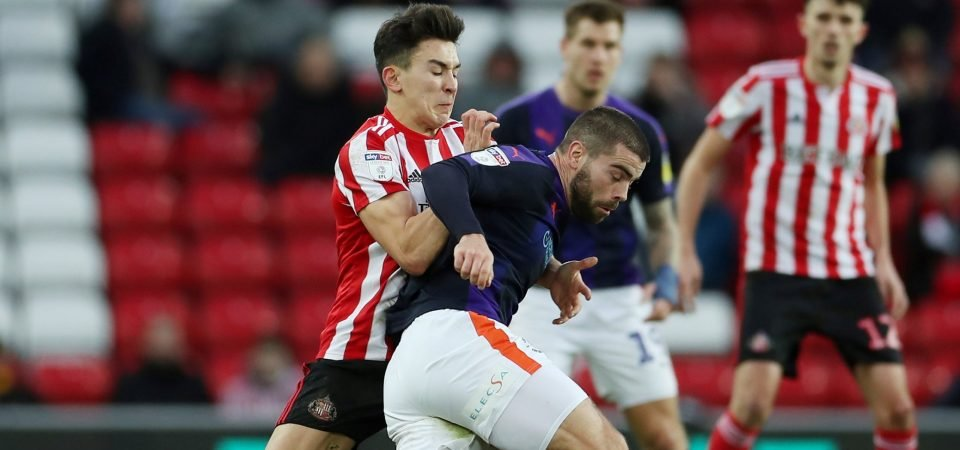 Sunderland fans love Luke O'Nien's response to rescinded red card