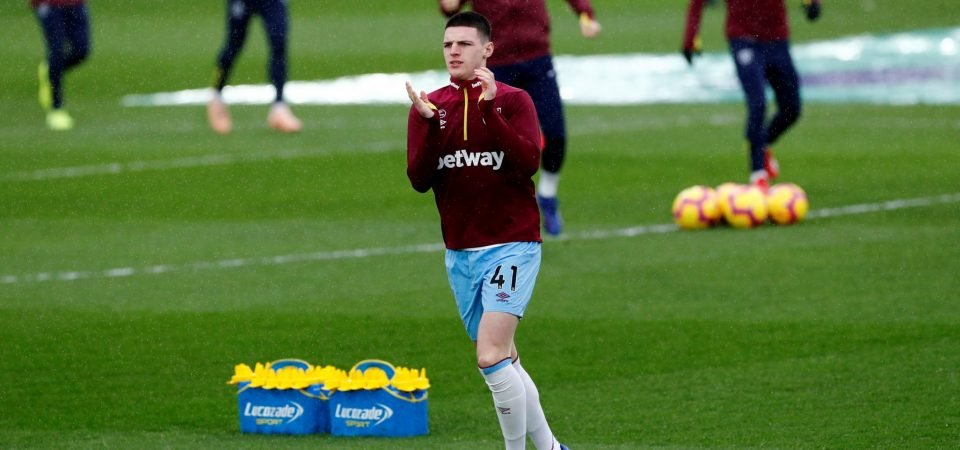 Between The Lines: Manuel Pellegrini surprised by how mature Declan Rice is