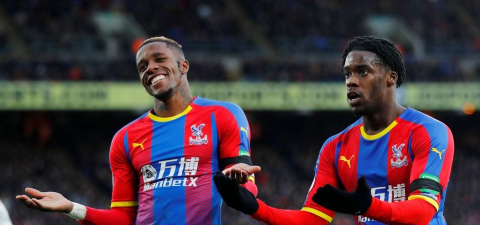 West Ham fans are angry with the FA after upholding Wilfried Zaha's ban