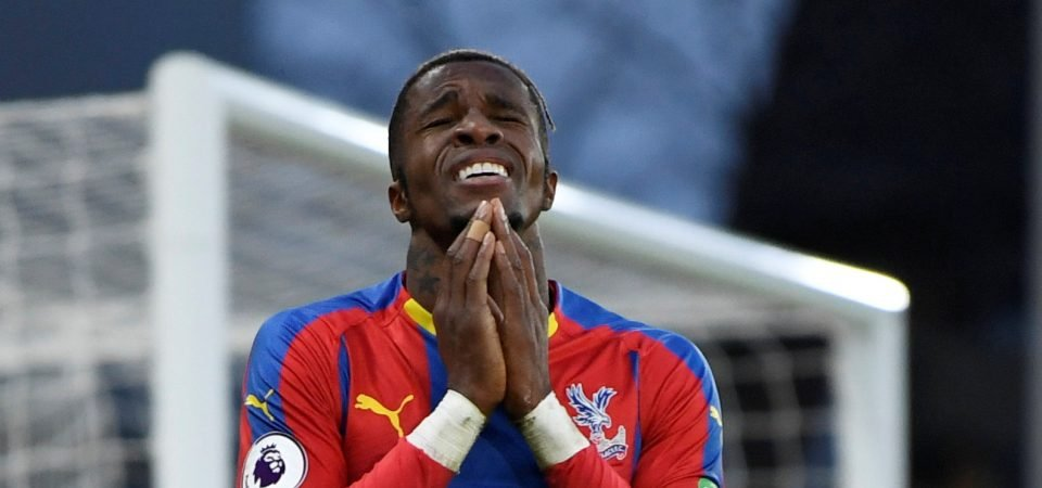 Relegation the grim prospect of the post-Zaha era at Palace