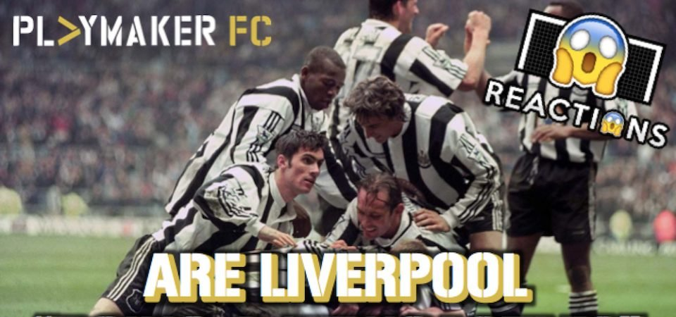 """Watch: Are Liverpool """"doing a Newcastle?"""""""