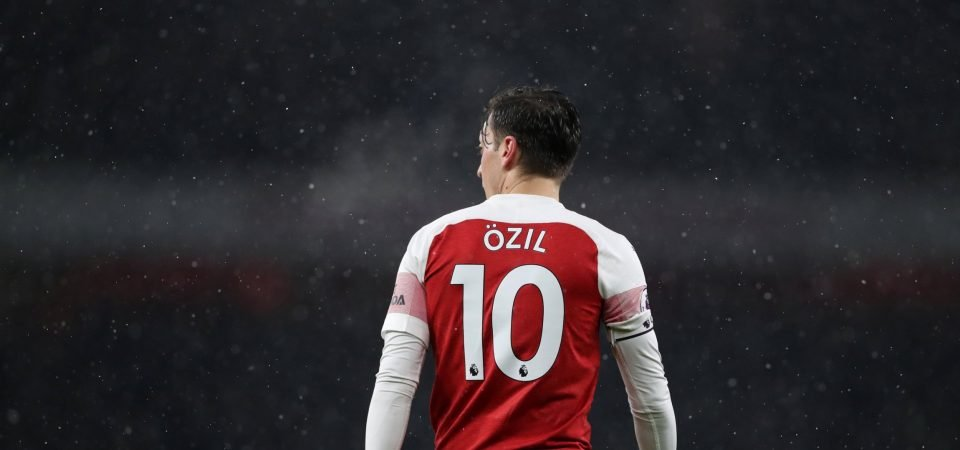 Ozil thrives in limited Arsenal role