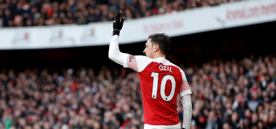 The Chalkboard: Unai Emery boosts top-four dream with Mesut Ozil revival