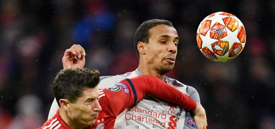 Good move: Liverpool set to schedule contract talks with Joel Matip