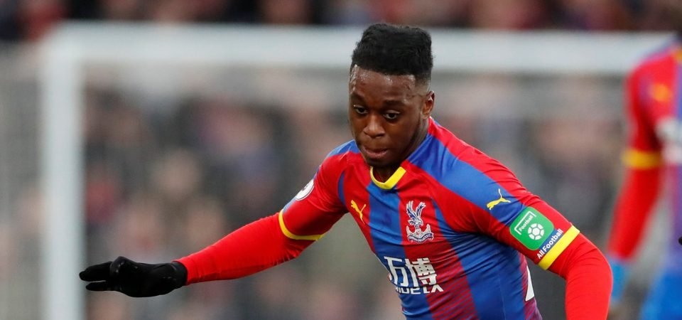 Crystal Palace fans were delighted with Aaron Wan-Bissaka's performance