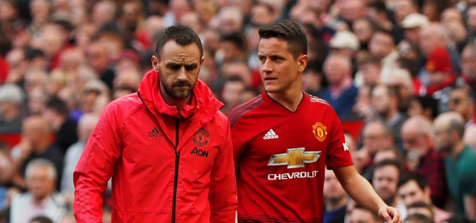 Manchester United risk losing Ander Herrera to Arsenal for free this summer