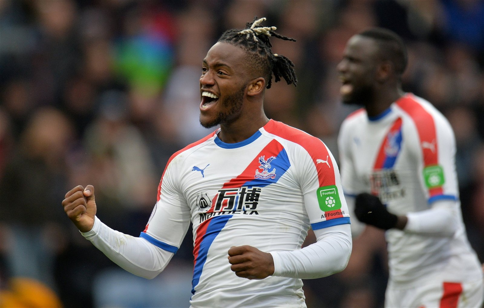 Batshuayi celebrates for Palace