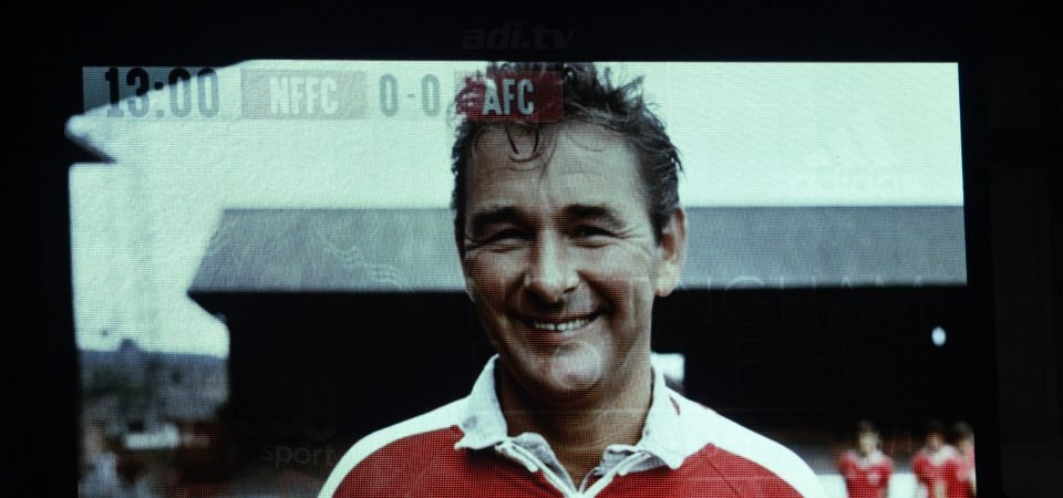 The top one: Nottingham Forest fans remember Brian Clough