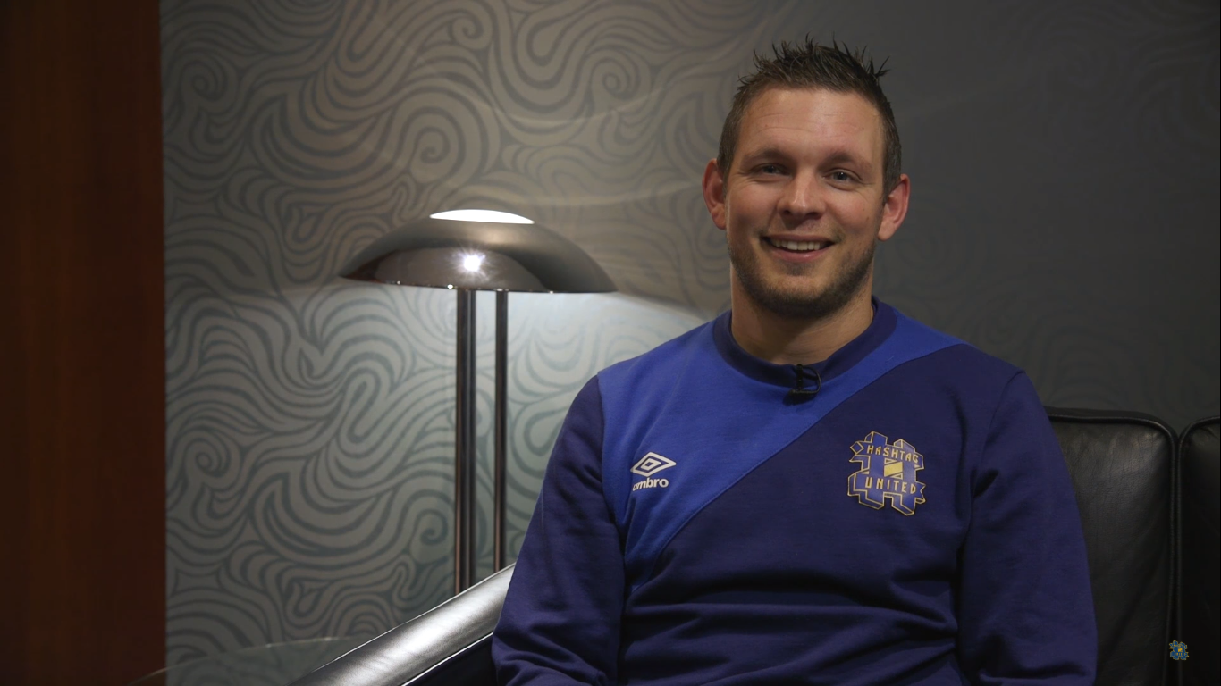 Here's what Hashtag United legend Dan Brown is up to now