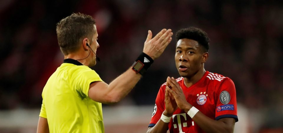Liverpool handed transfer blow with David Alaba