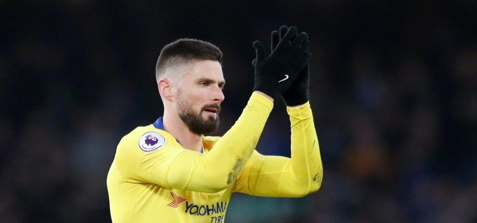 Olivier Giroud says he wants to leave Chelsea for more playing time