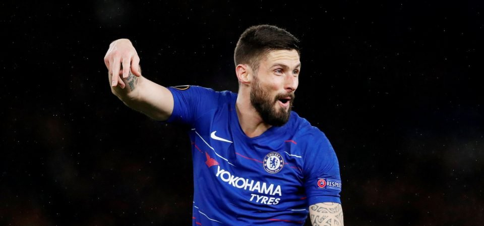 Olivier Giroud deserves a contract extension at Chelsea